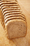 Cut rye bread Stock Photos