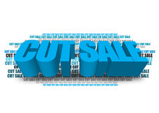 Cut sale Stock Photos