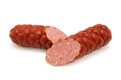 Cut sausage Royalty Free Stock Photos