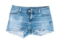 Cut short jeans stock image