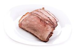 Cut sirloin beef Stock Photo