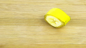 Cut slice of banana Royalty Free Stock Images