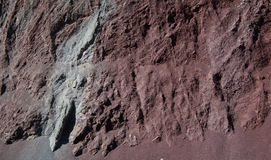 Cut of soil with different layers Royalty Free Stock Photos