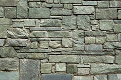 Cut stone wall Stock Image