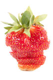 Cut strawberry Stock Image