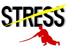 Cut stress Royalty Free Stock Photo