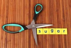 Cut sugar stock photography