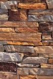 Cut tan and grey stone Royalty Free Stock Image