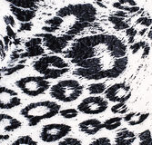 Cut textile matter leopard coloring Royalty Free Stock Image