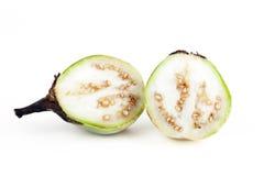 Cut Thai Eggplant Stock Photos