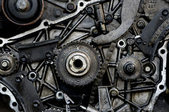 Cut thrue engine Royalty Free Stock Photo