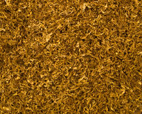 Cut tobacco background Stock Photo
