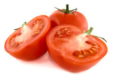Cut tomato Royalty Free Stock Image