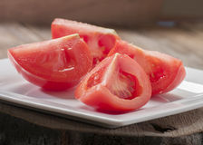 Cut tomato Royalty Free Stock Images