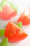 Cut Tomatoes Stock Photo