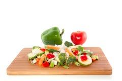 Cut Vegetables Stock Photos
