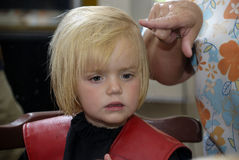 cut włosy Fotografia Royalty Free