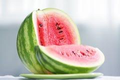 Cut watermelon Stock Photos