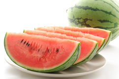 Cut watermelon Stock Photo