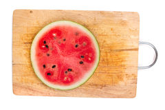 Cut watermelon Royalty Free Stock Image