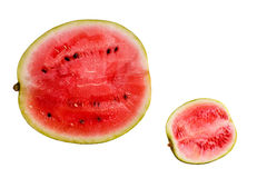 Cut watermelons Stock Photography