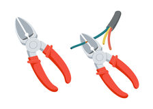 Cut wire cutters Stock Photography