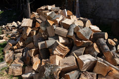Cut wood Royalty Free Stock Photography