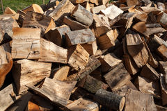 Cut wood Royalty Free Stock Image