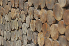 Cut Wood Royalty Free Stock Photos