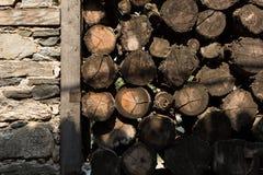 Cut wood Stock Photos