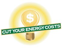 Cut Your Energy Costs Stock Photography