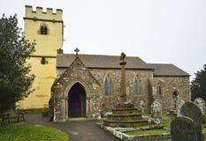 Cutcombe Church Stock Photography