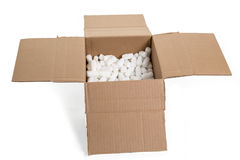 Cutdown Box Royalty Free Stock Photo