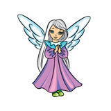 Cute Christmas angel Royalty Free Stock Photography