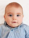 Cute. A cute baby stock photo