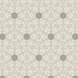 Cute abstract beige feminine pattern Royalty Free Stock Images
