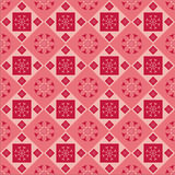 Cute Abstract Floral Pattern Stock Images