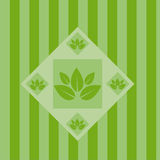 Cute abstract leaves background Stock Photography