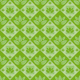 Cute abstract leaves pattern Stock Photography