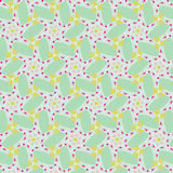 Cute abstract neon feminine pattern for textiles Stock Photo