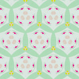 Cute abstract neon feminine pattern for textiles Stock Photos