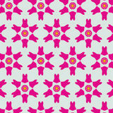 Cute abstract neon feminine pattern for textiles Royalty Free Stock Photo