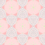 Cute abstract pink feminine pattern textiles Royalty Free Stock Image