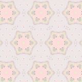 Cute abstract pink feminine pattern textiles Royalty Free Stock Photo