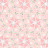 Cute abstract pink feminine pattern textiles Stock Photo