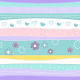 Cute abstract seamless pattern Stock Photo
