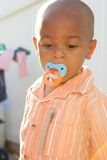 Cute African American Boy Stock Image