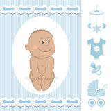 Cute African baby boy Royalty Free Stock Photography