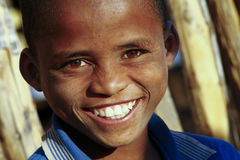 Cute african boy with beautiful smile Stock Images