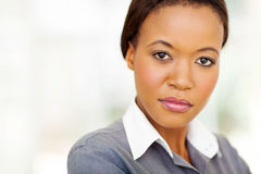 Cute african businesswoman Stock Image